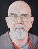 Jim Torok - Chuck Close, 2014, 9 x 7 x 1 inches