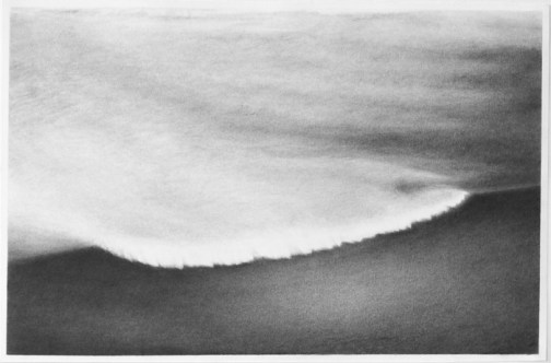 """Under Water,"" 2013, Graphite on paper, 12.5 x 19 inches"