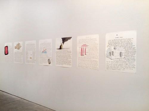 "Olav Westphalen - Drawings, 1996-2007 (""Tire,"" ""Tower,"" ""Smokestacks,"" ""Cave""), 2015, Ink on paper"