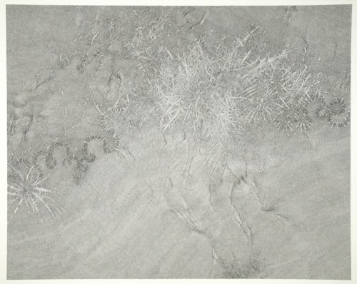 "Daniel Zeller - ""Thwarted Interpassage,"" 2019, Ink on paper, 30 x 37 inches"