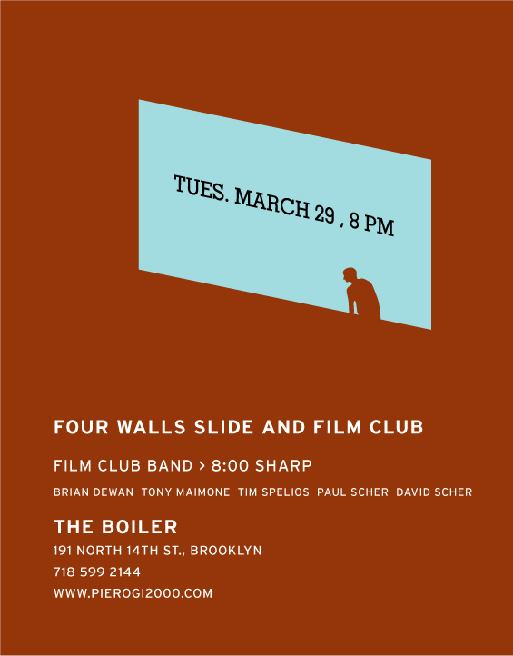 Film Club flyer