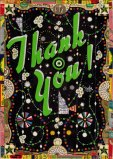 "Tony Fitzpatrick - ""Emerald Thank You,"" 2013, Mixed media on paper, 11 3/8 x 7 3/8 inches. Sold"