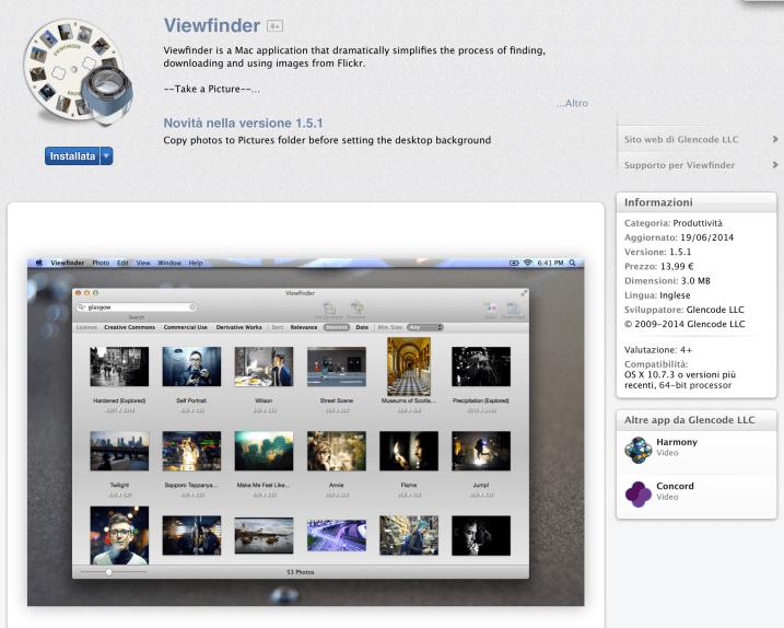 viewfinder app mac store