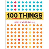 100 Things Every Presenter Needs to Know About People Cover
