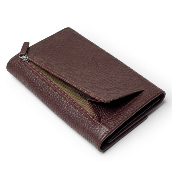 Leather Wallet Billfold for Women Made in Tuscany - Pierotucci