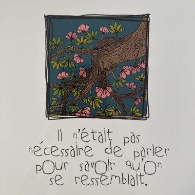 IL NETAIT PAS NECESSAIRE DE PARLER