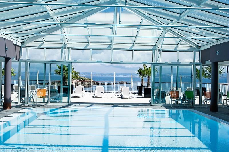 piscine de la Résidence de luxe à Tréboul