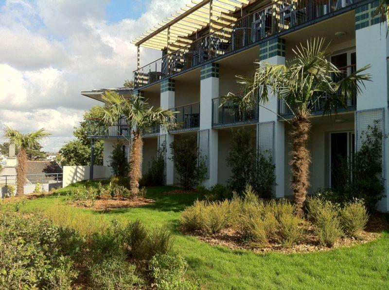 jardin de la Résidence de luxe à Tréboul