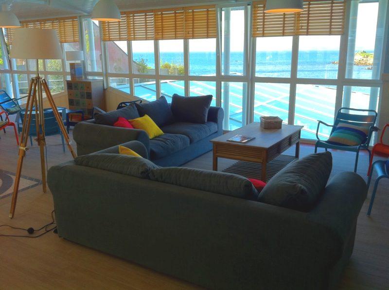 Accueil de la résidence Le Coteau et la mer