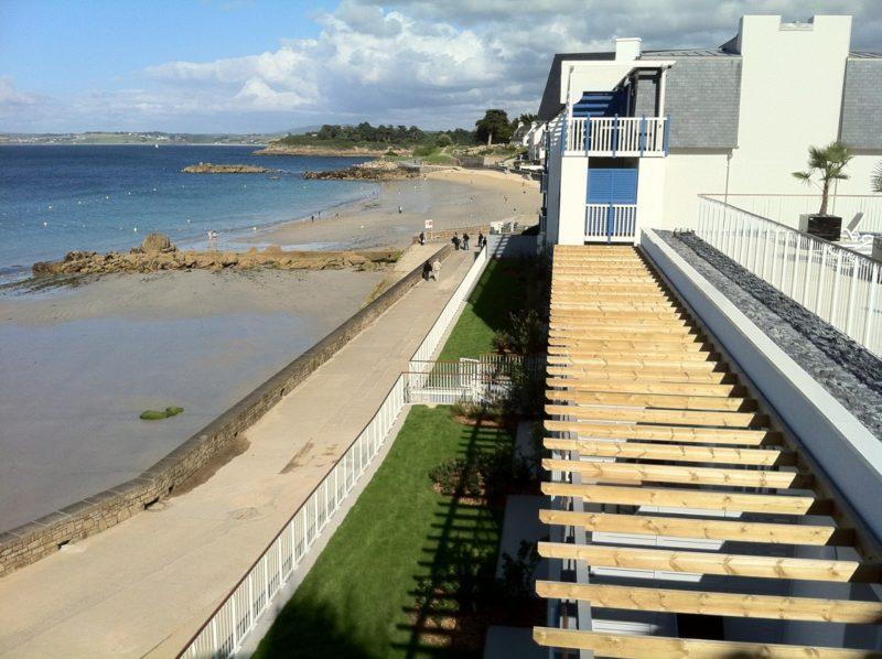 résidence avec vue sur mer