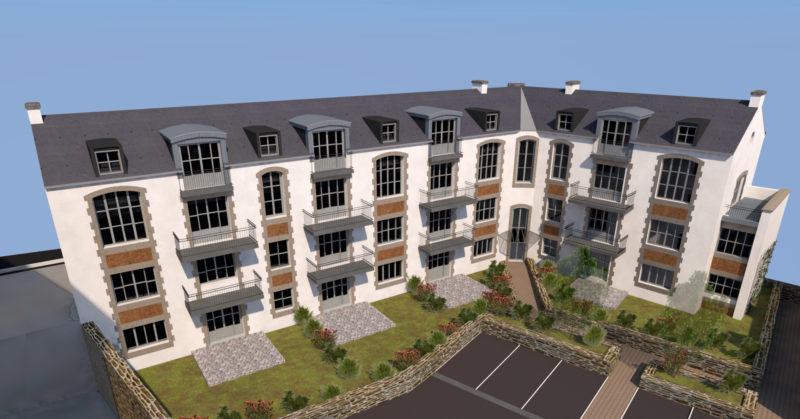 Appartements de standing centre-ville Quimper