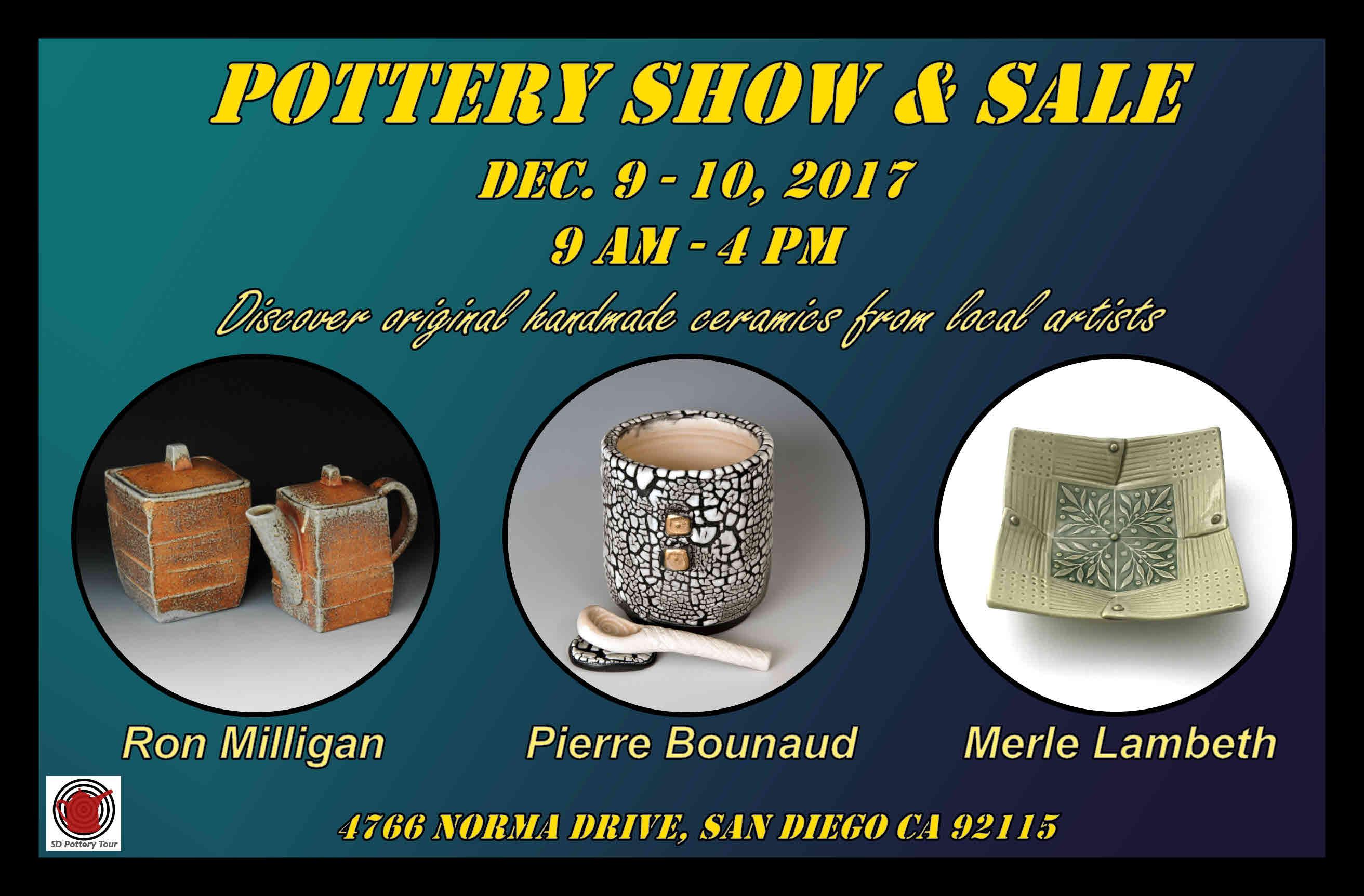 San Diego Pottery Tour 2017