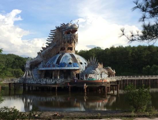 Parc aquatique abandonné - Hué - Vietnam