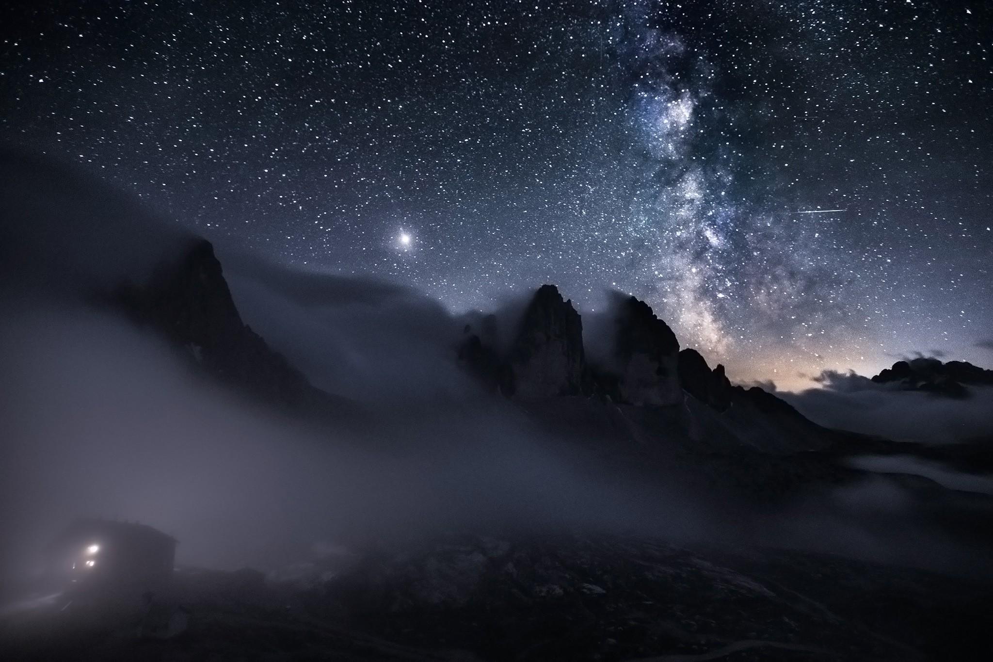 Voie lactée à Tre Cime | Paysage de nuit © Pierre ROLIN - Photographe Nancy - Lorraine / Grand Est