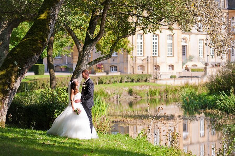 Mariage de Kate et Ludo devant Château de Pange
