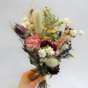 Atelier couronnes de fleurs séchées