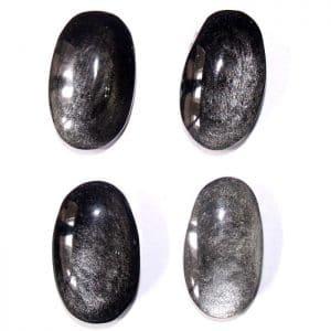 Obsidiennes argentées