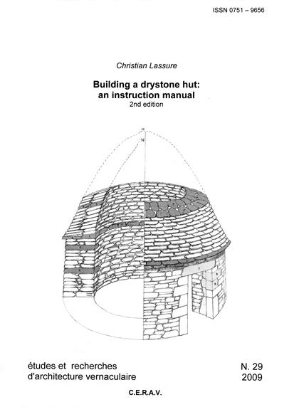 Etudes et recherches d'architecture vernaculaire No 29