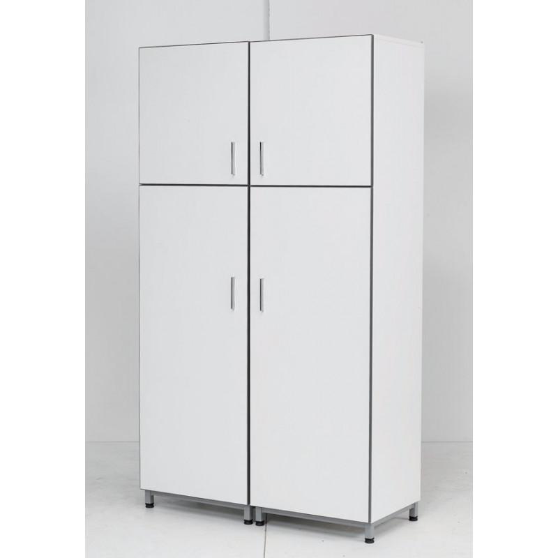 armoire de rangement portes battantes