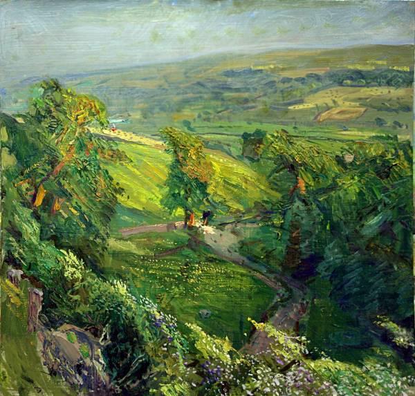 Yorkshire Landscape Painting