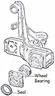 Rear Wheel Bearing, Outer, 69-79 Irs: Pierside Parts