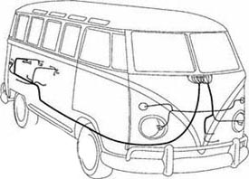 Wiring Harness,Complete, Bus 1965 Only: Pierside Parts