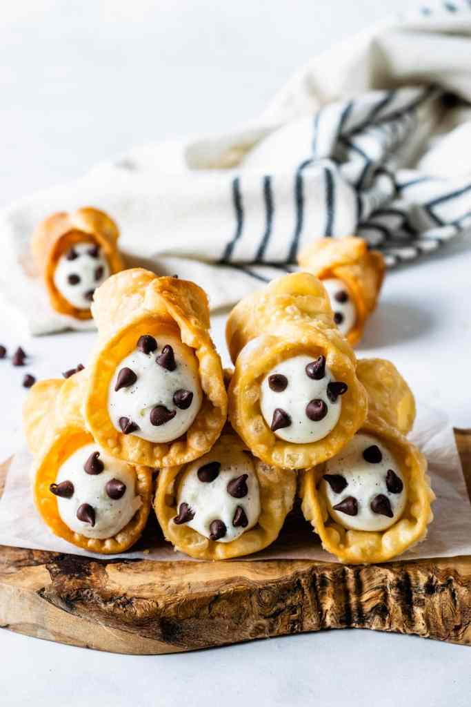 Cannoli shells made from scratch