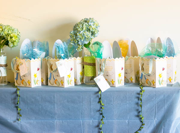 Peter Rabbit party favors