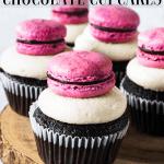 Raspberry Almond Chocolate Cupcakes