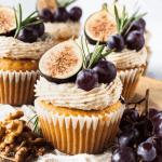 grape cupcakes