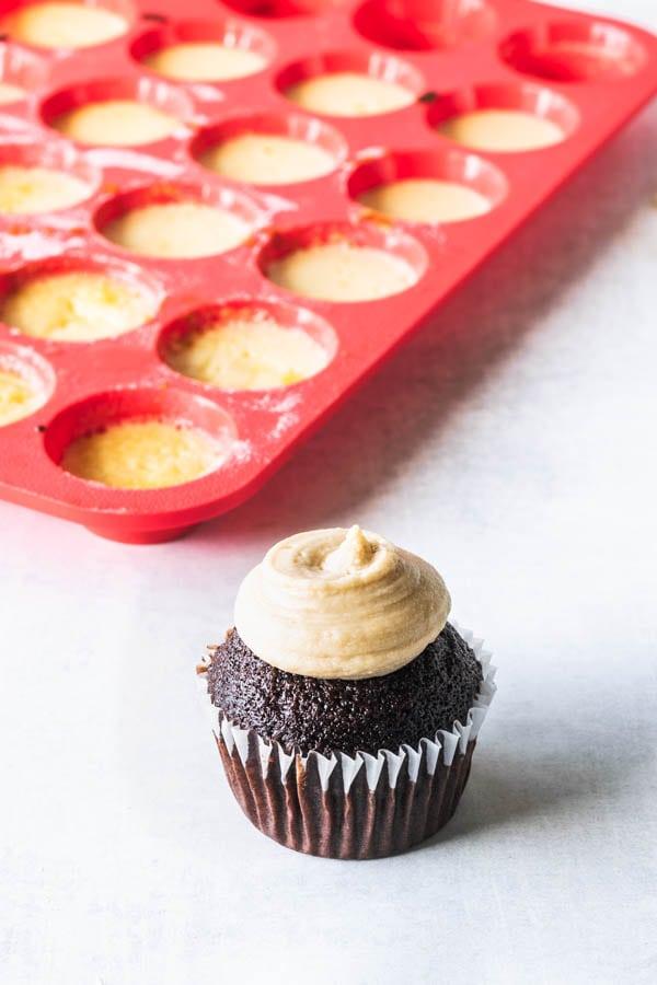 Flan Cupcakes