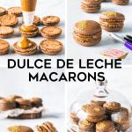 Dulce de Leche Macarons