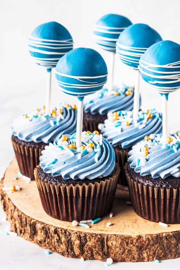 cake pop cupcakes