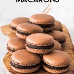 Chocolate Macaron