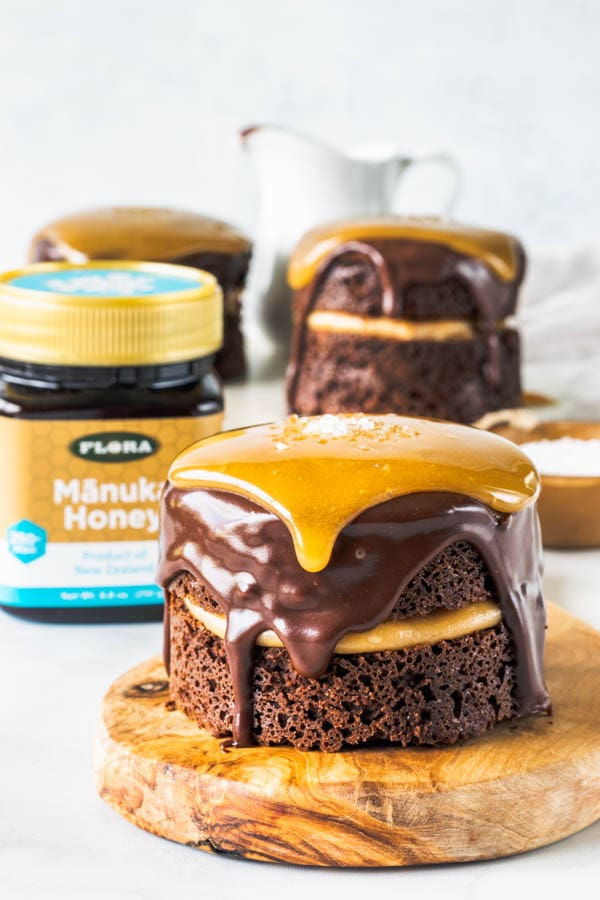 Paleo Honey Chocolate Cake