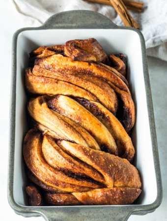 Vegan Cinnamon babka
