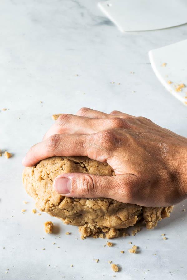 pat and fold dough