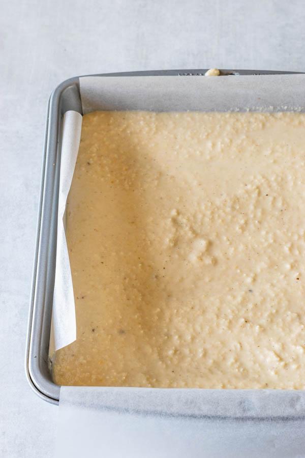 vegan cheesecake batter
