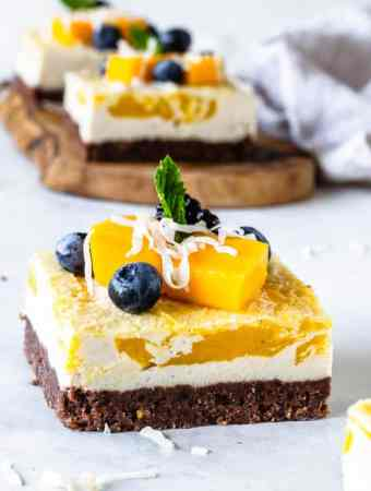 Vegan Mango Bars