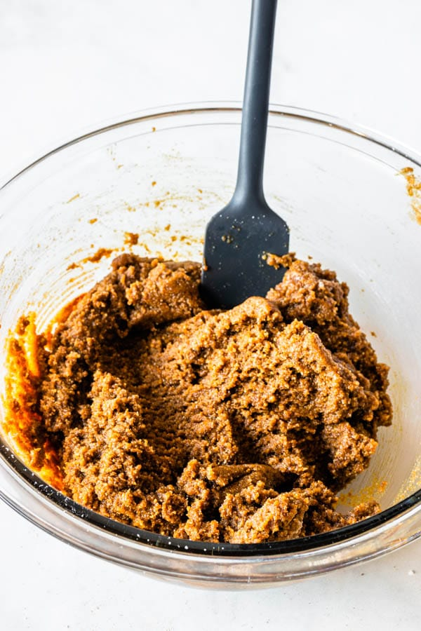 vegan ginger cookie dough