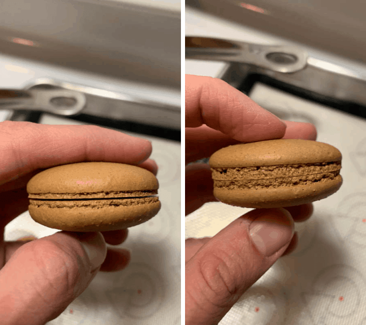 difference between 5 degrees in temperature baking macarons