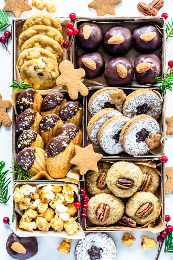 Vegan Christmas Cookies cookie box