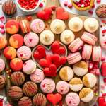 Valentine's Day Macarons board
