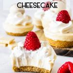 No-Bake White Chocolate Cheesecake