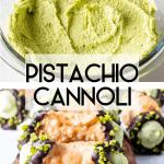 How to make pistachio cannoli