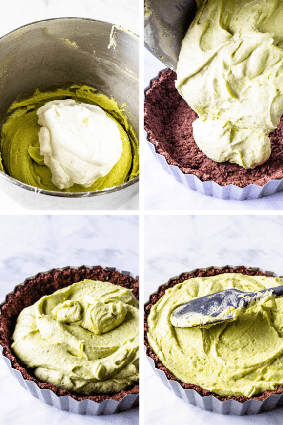 No-Bake Pistachio Tart