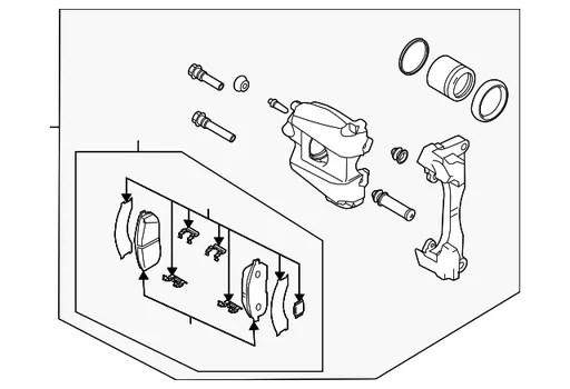 Lichidare stoc Contact+cheie cu telecomanda pt ford focus