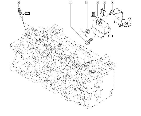 Releu bujii incandescente Renault Megane 3 / Fluence , 1.5