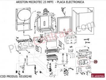 Placa electronica centrala termica Ariston MICROTEC 23