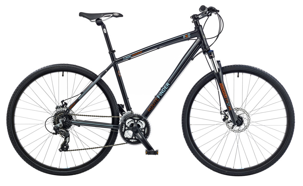 Bicicleta Land Rover Commute & Trail ROUTEFINDER PRO
